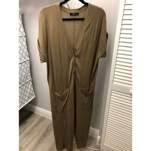 Zara Army Jumpsuit